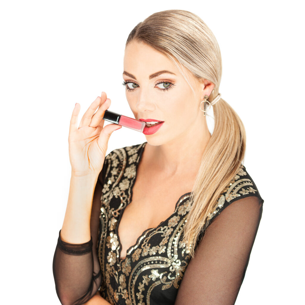 Cosmetica-fotografie met model